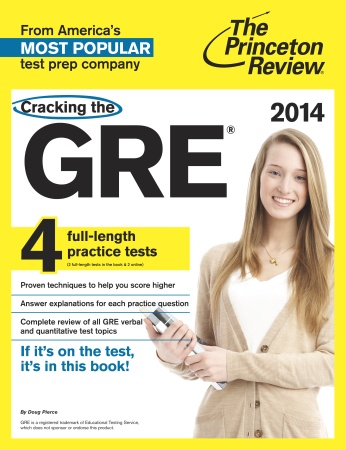 princeton review book for act