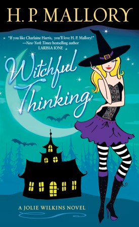 This Month's Featured Giveaway: WITCHFUL THINKING by H.P. Mallory