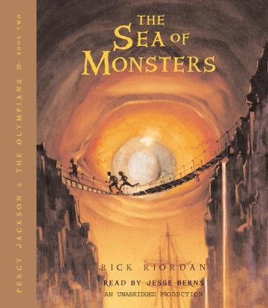 Рик Риордан / Rick Riordan - Перси Джексон 2: Море Чудовищ / Percy Jackson 2: The Sea of Monsters [Jesse Bernstein, 2006, 64 kbps]