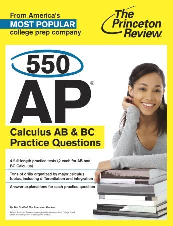 Princeton Review Ap Calculus Ab Practice Test 1