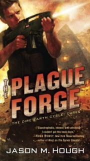 Exclusive Audio Excerpt: The Plague Forge by Jason M. Hough