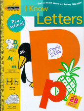 I Know Letters (Preschool) Cover