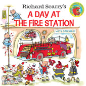 Richard Scarry's A Day at the Fire Station Cover