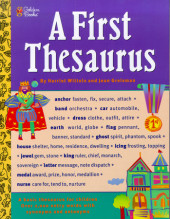 A First Thesaurus Cover