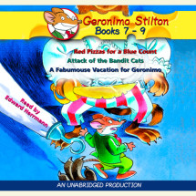 Geronimo Stilton: Books 7-9 Cover