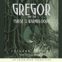 The Underland Chronicles Book Three: Gregor and the Curse of the Warmbloods Cover