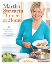 Martha Stewart's Dinner at Home Cover