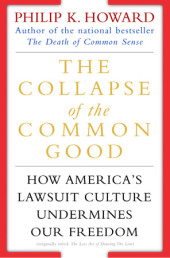 The Collapse of the Common Good Cover