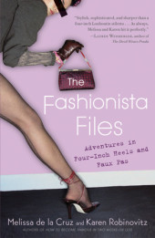 The Fashionista Files Cover