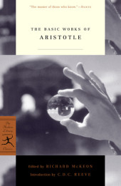 The Basic Works of Aristotle Cover