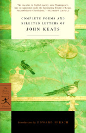 Complete Poems and Selected Letters of John Keats Cover