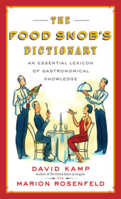 The Food Snob's Dictionary Cover