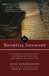 The Nuremberg Interviews Cover