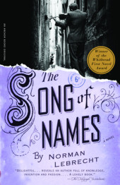 The Song of Names Cover
