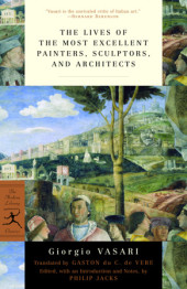 The Lives of the Most Excellent Painters, Sculptors, and Architects Cover