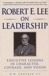 Robert E. Lee on Leadership Cover
