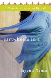 Cartwheels in a Sari Cover