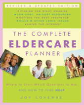 The Complete Eldercare Planner, Revised and Updated Edition Cover