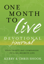 One Month to Live - Devotional Journal