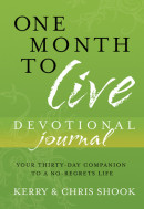 One Month to Live Devotional Journal by Kerry Shook