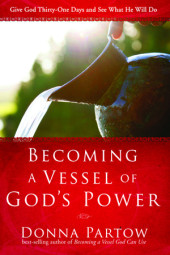 Becoming a Vessel of God's Power Cover