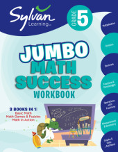 Fifth Grade Super Math Success (Sylvan Super Workbooks) Cover