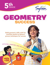 Fifth Grade Geometry Success (Sylvan Workbooks) Cover