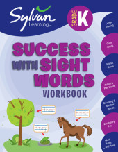 Kindergarten Success with Sight Words (Sylvan Workbooks) Cover