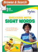 First Grade Success with Sight Words (Sylvan Workbooks)