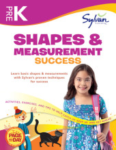 Pre-K Shapes & Measurement Success (Sylvan Workbooks) Cover