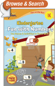 Kindergarten Fun with Numbers (Sylvan Fun on the Run Series)