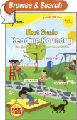 First Grade Reading Roundup (Sylvan Fun on the Run Series)