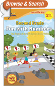 Second Grade Fun with Numbers (Sylvan Fun on the Run Series)