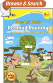 Second Grade Reading Roundup (Sylvan Fun on the Run Series)