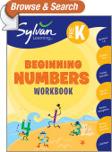 Pre-K Beginning Numbers (Sylvan Workbooks)