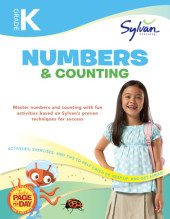 Kindergarten Numbers & Counting (Sylvan Workbooks) Cover