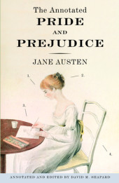 The Annotated Pride and Prejudice Cover