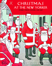 Christmas at The New Yorker Cover