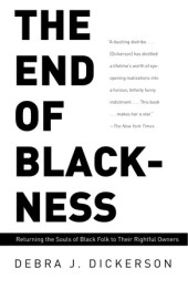 The End of Blackness Cover