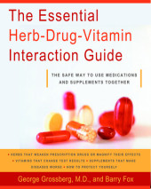 The Essential Herb-Drug-Vitamin Interaction Guide Cover