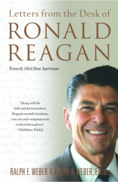 Letters from the Desk of Ronald Reagan Cover