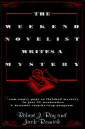 The Weekend Novelist Writes a Mystery Cover