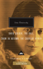 David Golder, The Ball, Snow in Autumn, The Courilof Affair Cover