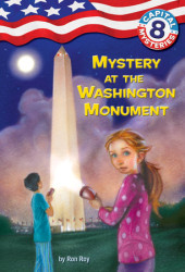 Capital Mysteries #8: Mystery at the Washington Monument Cover