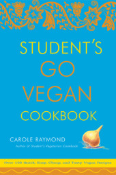 Student's Go Vegan Cookbook Cover