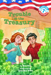 Capital Mysteries #7: Trouble at the Treasury Cover