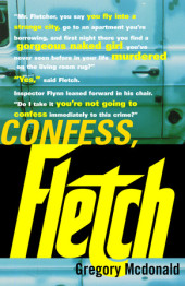 Confess, Fletch Cover