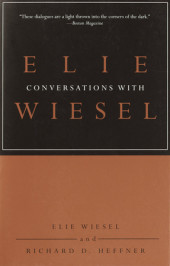 Conversations with Elie Wiesel Cover