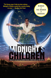 Salman Rushdie's Midnight's Children Cover