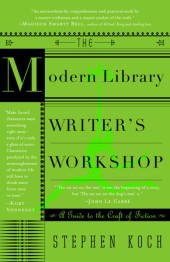 The Modern Library Writer's Workshop Cover
